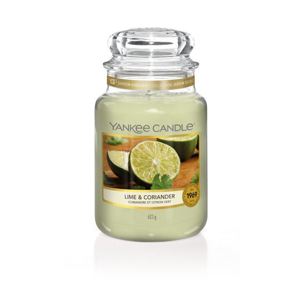 Picture of YANKEE CANDLE - LARGE LIME & CORIANDER
