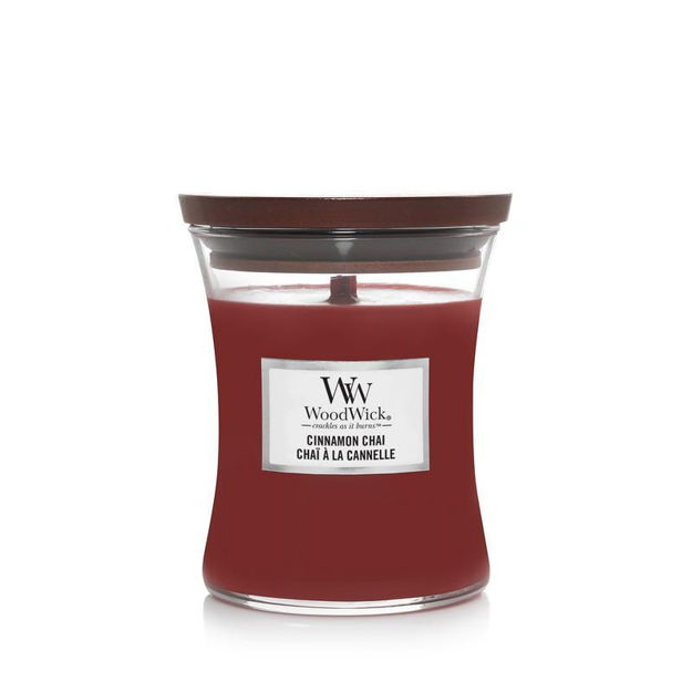 Picture of WOODWICK CANDLE - MEDIUM CINNAMON CHAI
