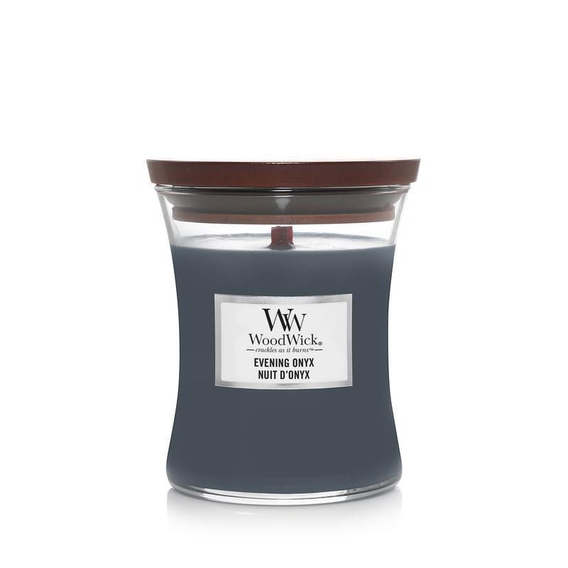 Picture of WOODWICK CANDLE - MEDIUM EVENING ONYX