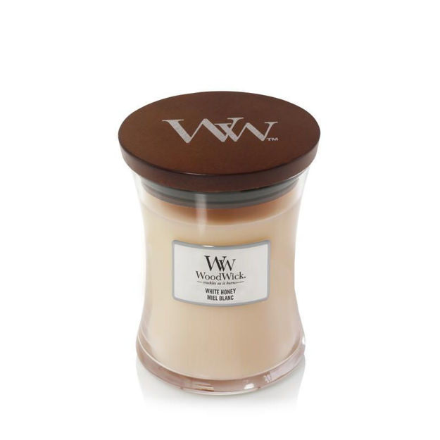 Picture of WOODWICK CANDLE - MEDIUM WHITE HONEY