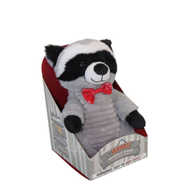 Picture of TEDDY - WOODLAND BUDDIES (HEATABLE INSERT) RACOON