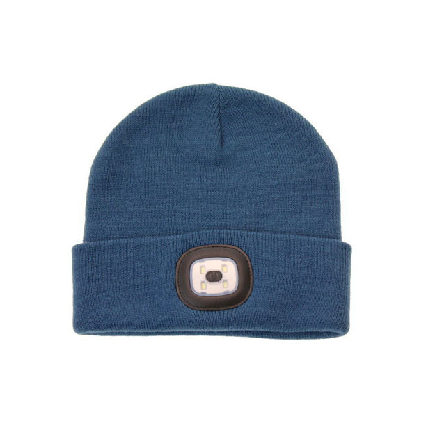 Picture of LADIES LED TORCH HAT (BLUE)