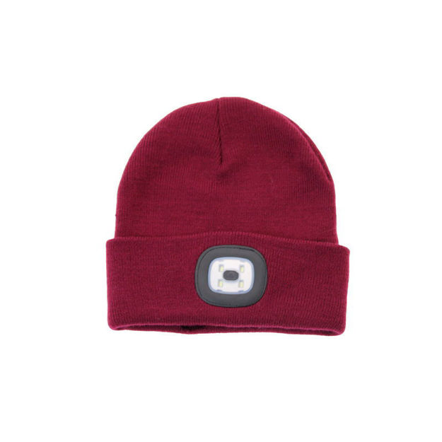 Picture of LADIES LED TORCH HAT (BURG)