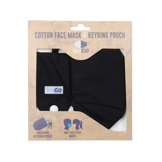 Picture of MASK - COTTON (BLACK)