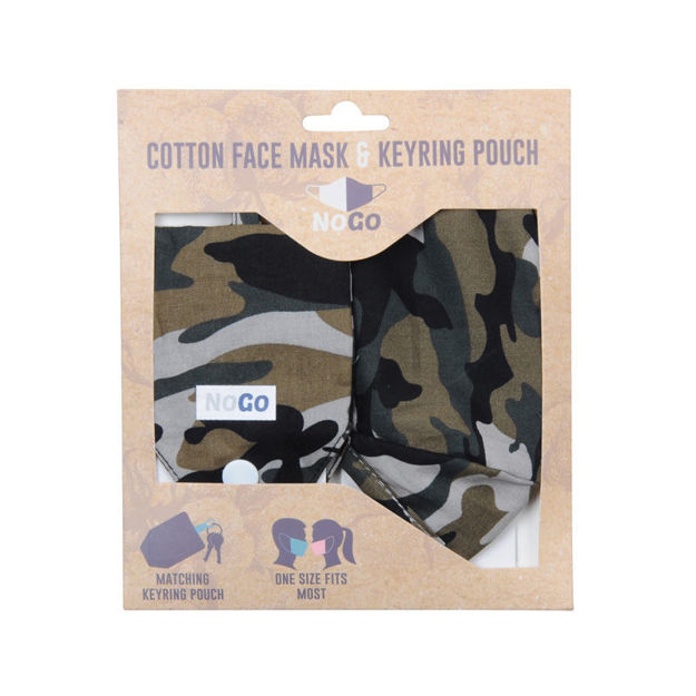 Picture of MASK - COTTON (CAMOUFLAGE)