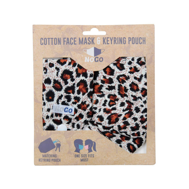 Picture of MASK - COTTON (LEOPARD)