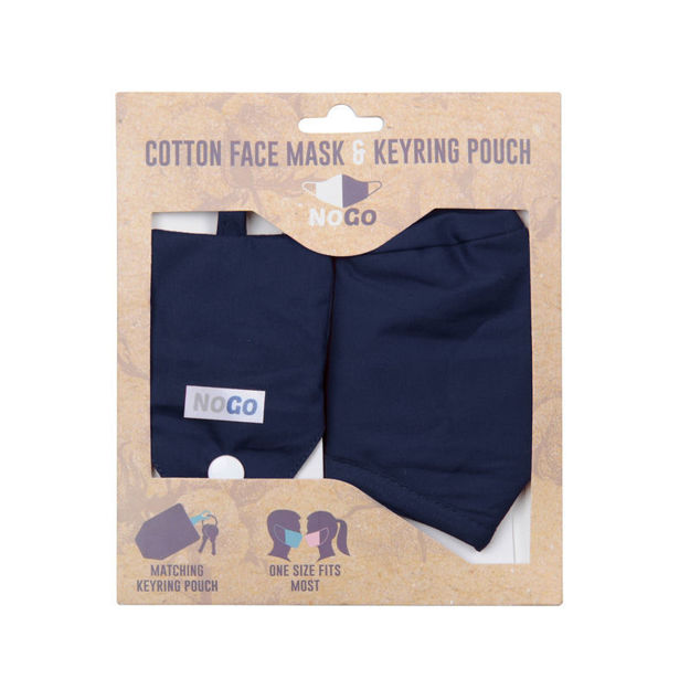 Picture of MASK - COTTON (NAVY)
