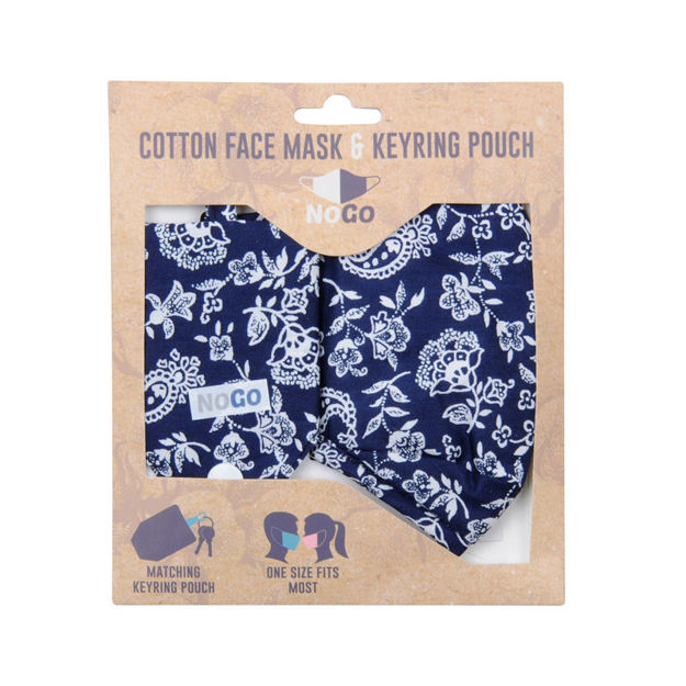 Picture of MASK - COTTON (PAISLEY)