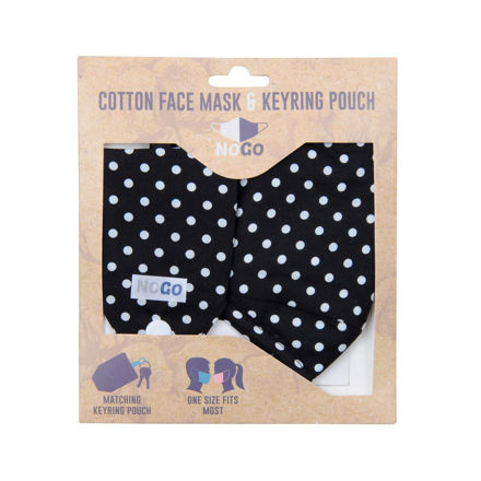 Picture of MASK - COTTON (POLKADOT)