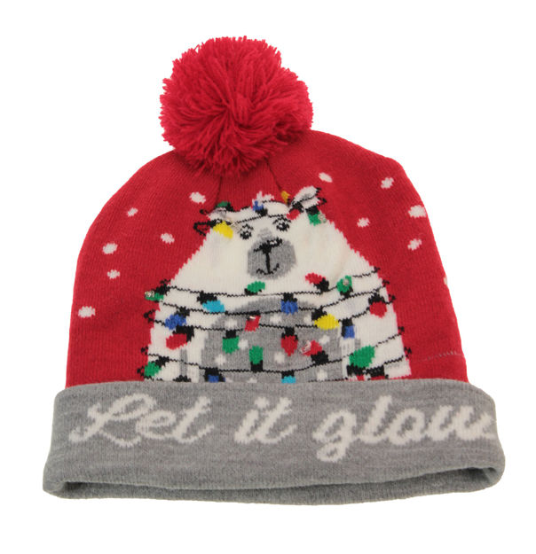 Picture of LED HAT - NOVELTY RED