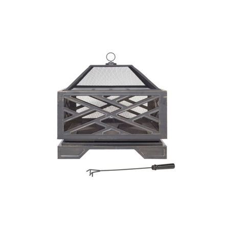 Picture of FIREPIT - BROOKLYN (STEEL H6 X W66 X D66cm)