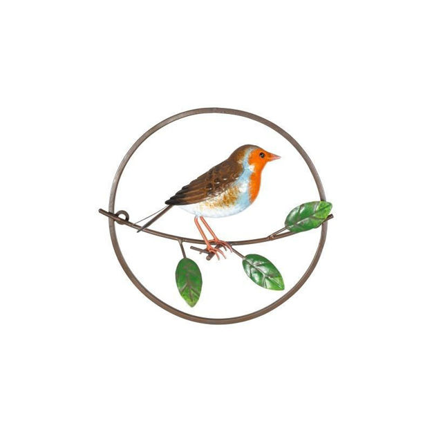 Picture of DEC WILDLIFE - PERCH ROBIN (H25 X W27 X D8cm)