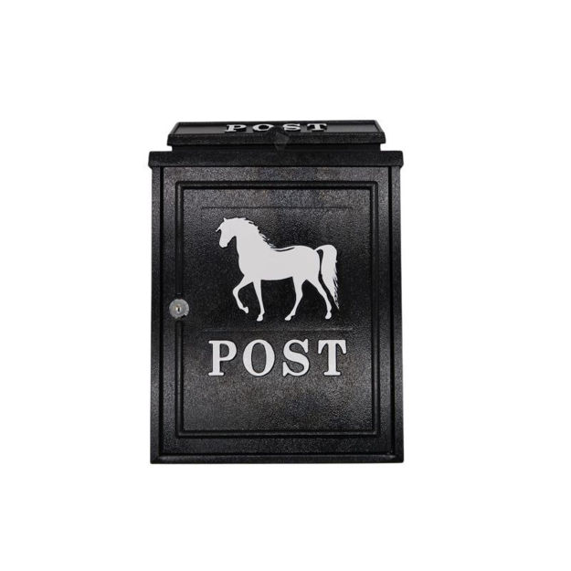 Picture of POST BOX - DIECAST HORSE TRAD