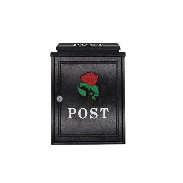 Picture of POST BOX - ROSE BLACK (CAST)