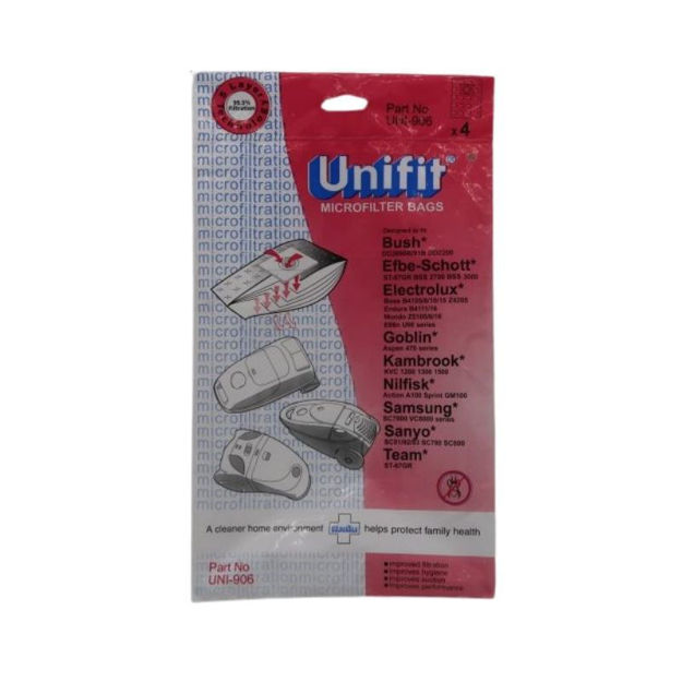 Picture of DUST BAGS - UNIFIT 906