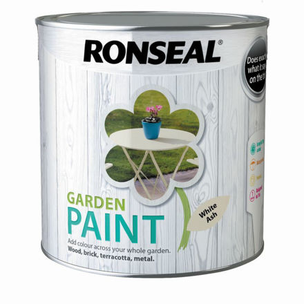 Picture of RONSEAL - GARDEN PAINT WHITE ASH - GP (2.5L)
