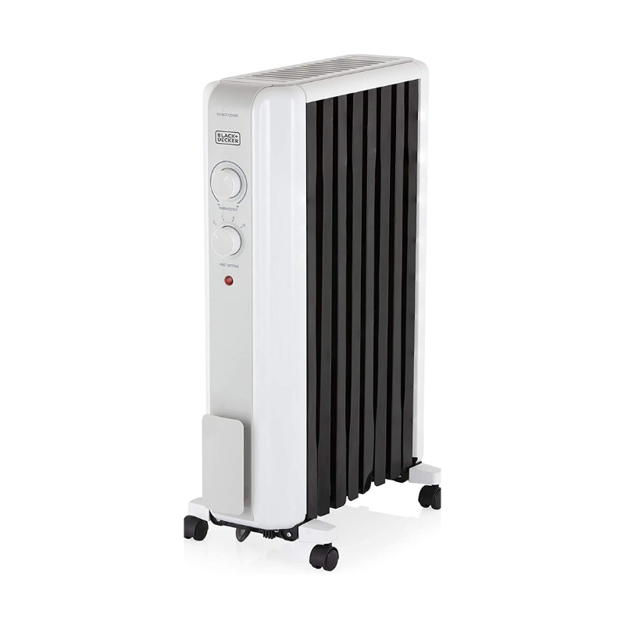 Picture of BLACK AND DECKER OIL FILLED RADIATOR 2KW VORTEX AIR