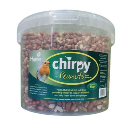 Picture of HYGEIA CHIRPY BIRD FEED PEANUTS 5KG TUB