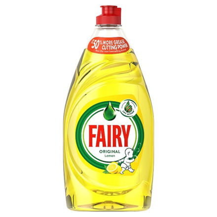 Picture of FAIRY WASH UP LIQUID LEMON 550ML
