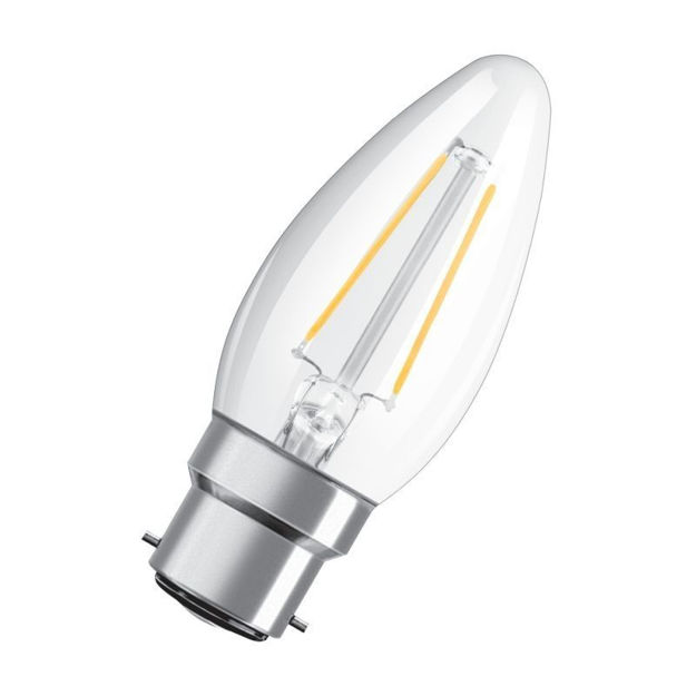 Picture of BULB - 2.8w (25w) B22 Led Can Clr Fili