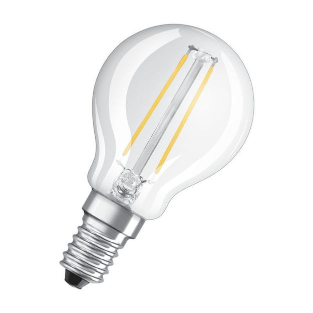 Picture of BULB - 2.5w (25w) E14 Led G/Ball Clr Fili