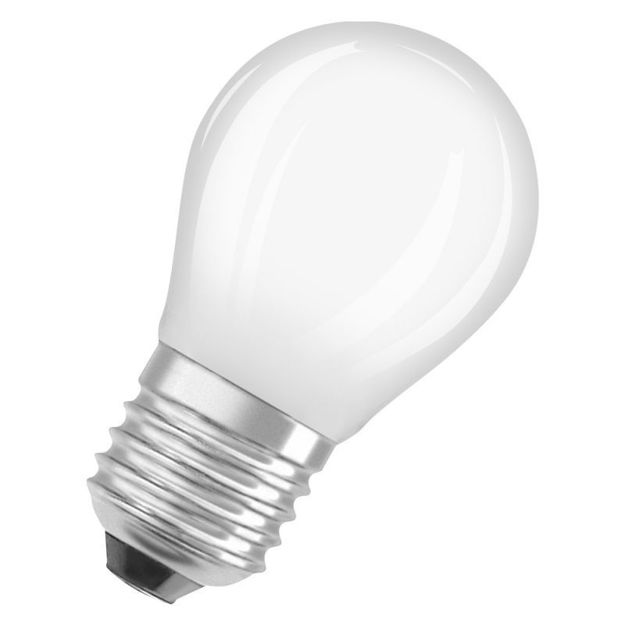Picture of BULB - 5w (40w) E27d  Led G/Ball Dim