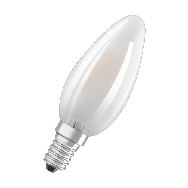 Picture of BULB - 4w (40w) E14 Led Can Frs Fili