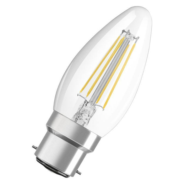 Picture of BULB - 4w (40w) B22 Led Can Clr Fili