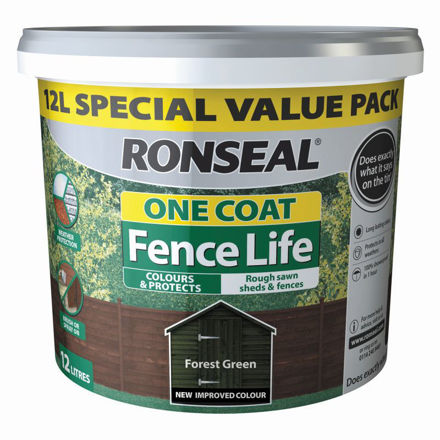 Picture of FENCELIFE  FOREST GREEN 12L (1 COAT)