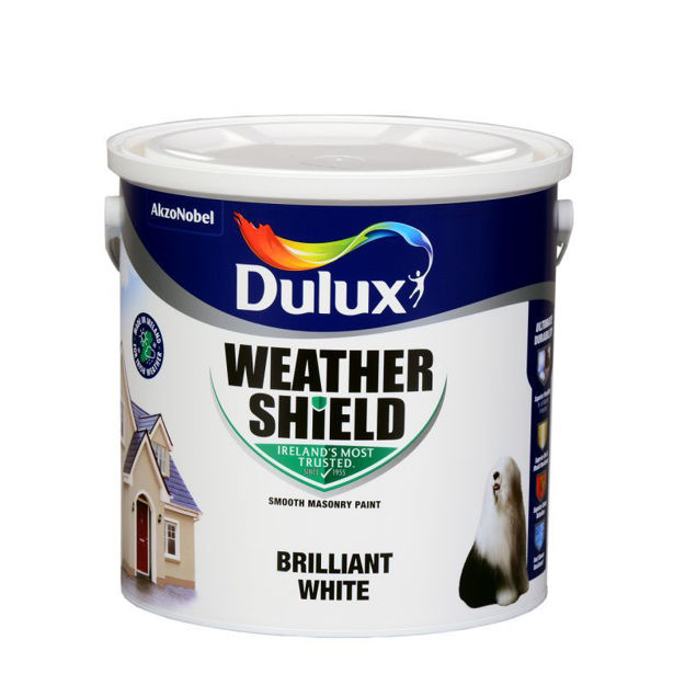 Picture of WEATHERSHIELD WHITE 2.5 LTR