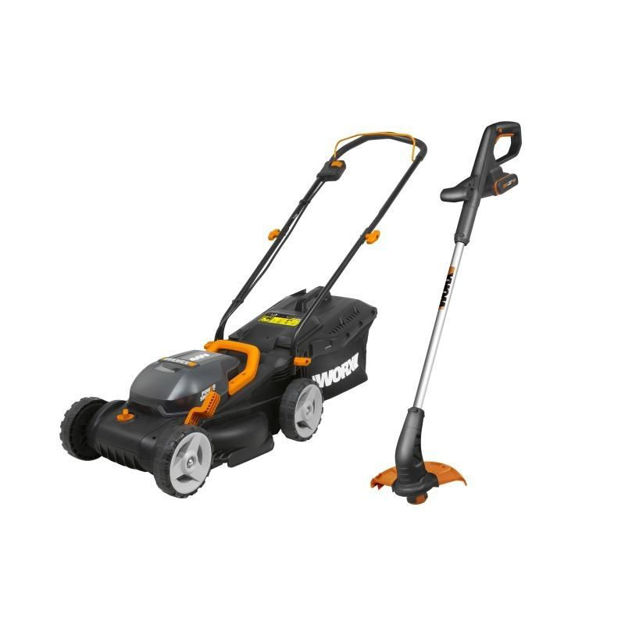 Picture of LAWN MOWER 34CM + TRIMMER 25CM 20V WORX