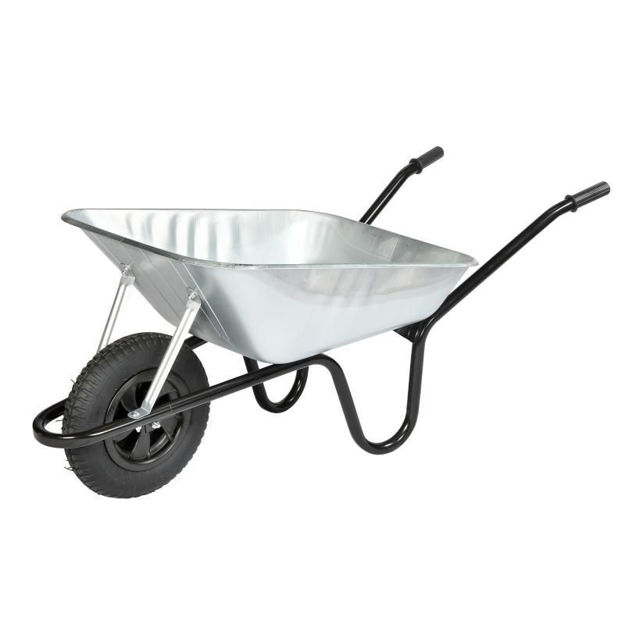 Picture of WHEELBARROW VANGUARD GALV 90LTR
