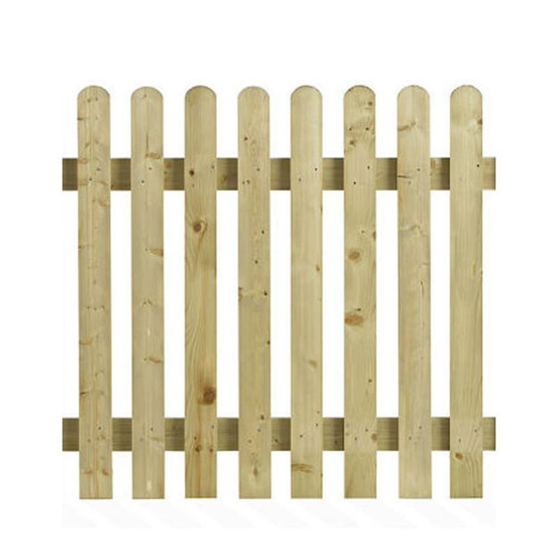 Picture of PICKET FENCING ROUND TOP 6FT X 2FT