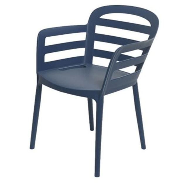 Picture of NEW YORK DINNING CHAIR NAVY