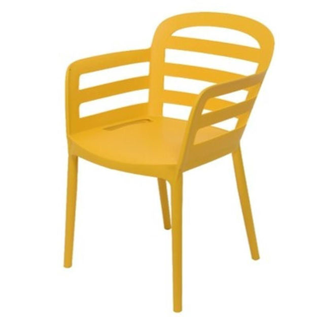 Picture of NEW YORK DINNING CHAIR MUSTARD