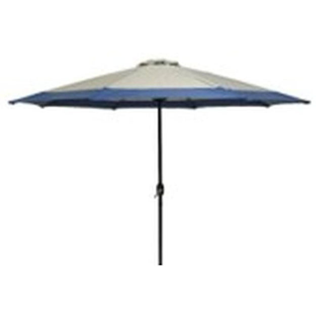 Picture of PARASOL - ALUMINIUM TAUPE/BLUE (3M)