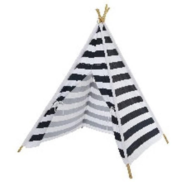 Picture of TEEPEE PLAY TENT NAVY/WHITE