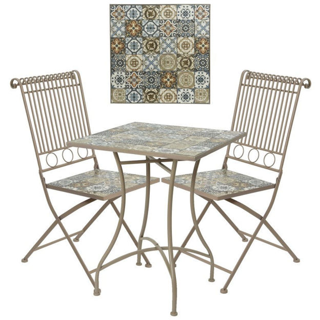 Picture of BISTRO SET - VENICE MOSAIC