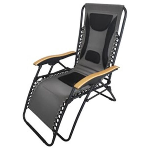 Picture of DELUXE ZERO GRAVITY RELAXER CHAIR GREY
