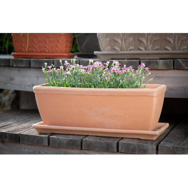 Picture of POT - ANTIQUE RECTANGULAR 51cm x 20mm (COLLECTION ONLY)
