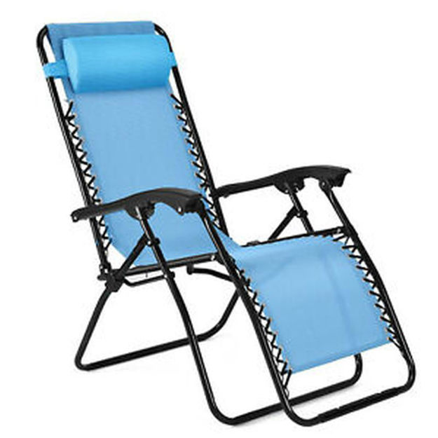 Picture of CHAIR - ZERO GRAVITY BLUE - 2 FOR €99