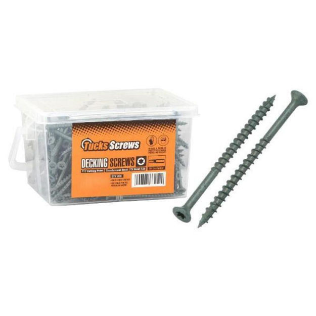 Picture of TUCKS DECKING SCREW 4.5 X 80MM (200)