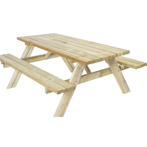 Picture of BENCH - PICNIC PRESSURE TREATED