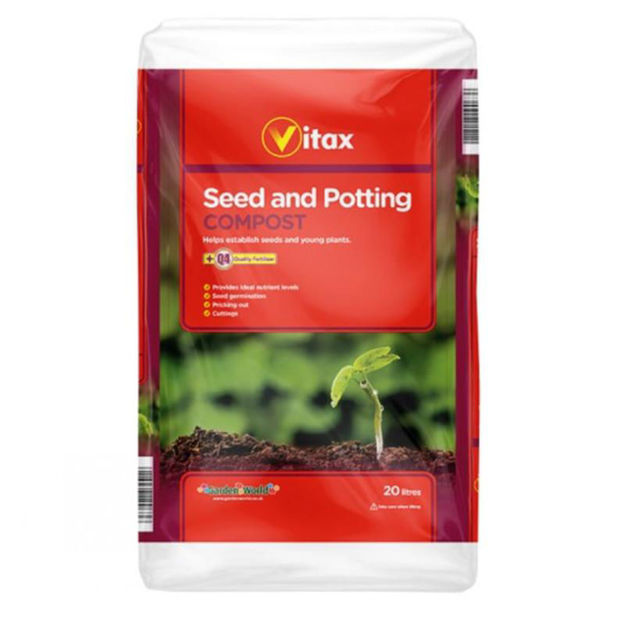 Picture of COMPOST - 20 LITRE VITAX SEED AND POTTING