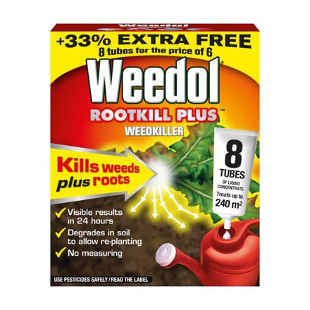Picture of WEEDOL ROOTKILL PLUS TUBES 6PK + 2 FREE