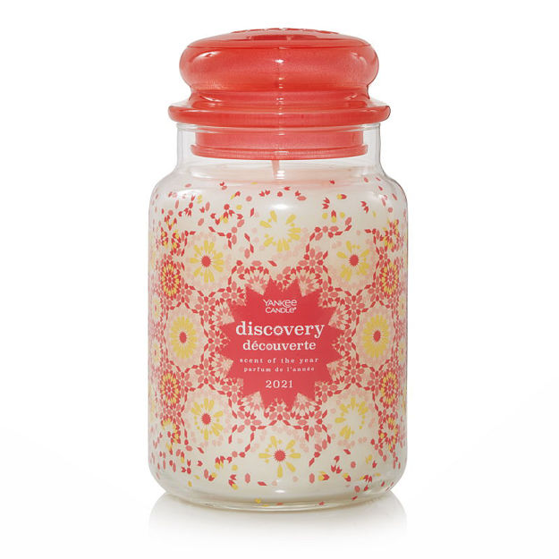 Picture of YANKEE CANDLE - LARGE SCENT OF YEAR 2021 - DISCOVERY