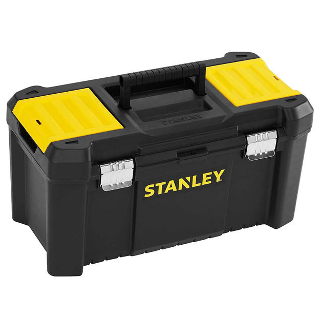 """Picture of STANLEY ESSENTIAL  TOOLBOX -19"""" WITH METAL LATCH"""