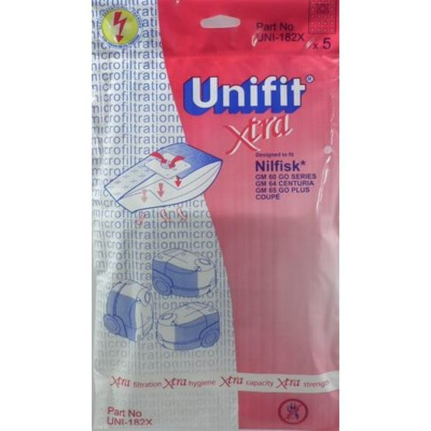 Picture of DUST BAGS - UNIFIT 182
