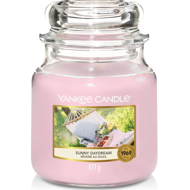 Picture of YANKEE CANDLE - MEDIUM SUNNY DAYDREAM