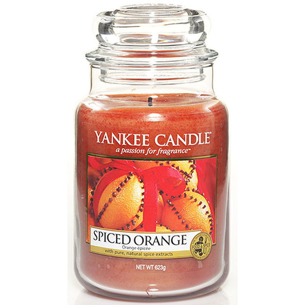 Picture of YANKEE CANDLE - LARGE SPICED ORANGE